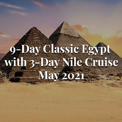 9-Day Classic Egypt with 3-Day Nile Cruise